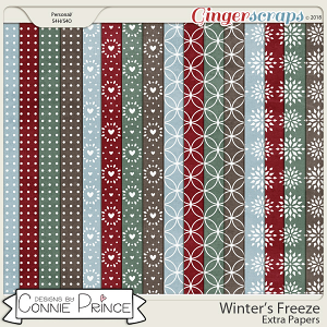 Winter's Freeze - Extra Papers by Connie Prince