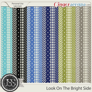 Look On The Bright Side Patterned Papers