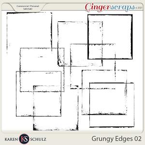 Grungy Edges 02 by Karen Schulz