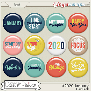 #2020 January - Flair Pack by Connie Prince