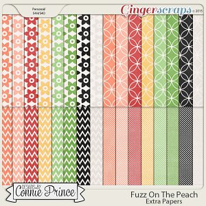 Fuzz On The Peach - Extra Papers