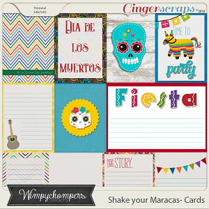 Shake your Maracas Cards