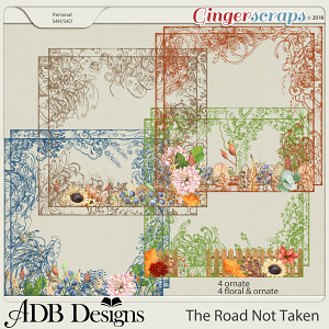 The Road Not Taken Borders by ADB Designs