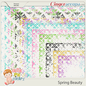 Spring Beauty-Messy Borders
