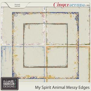 My Spirit Animal Messy Edges by Aimee Harrison