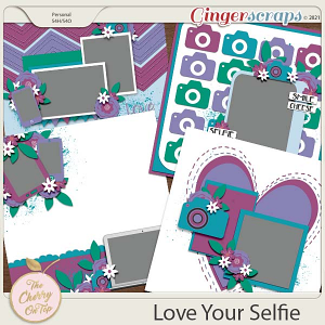 The Cherry On Top:  Love Your Selfie Templates