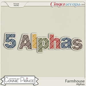 Farmhouse- Alpha Pack AddOn by Connie Prince