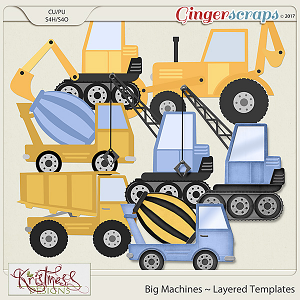 CU Big Machines Layered Templates