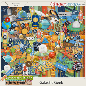 Galactic Geek by Clever Monkey Graphics