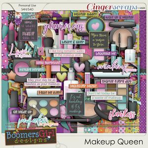 Makeup Queen by BoomersGirl Designs