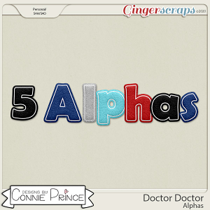Doctor Doctor - Alpha Pack AddOn by Connie Prince