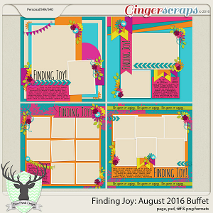 Finding Joy: August 2016 Buffet