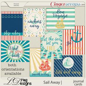 Sail Away: Journal Cards by LDrag Designs