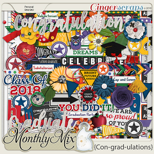 GingerBread Ladies Monthly Mix: Con-grad-ulations