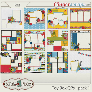 Toy Box Quick Pages 1