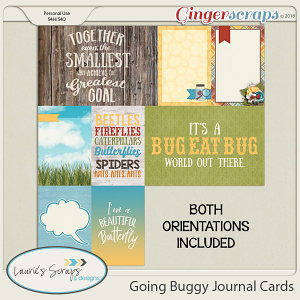 Going Buggy Journal Cards