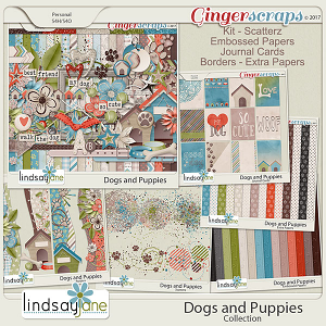 Dogs and Puppies Collection by Lindsay Jane
