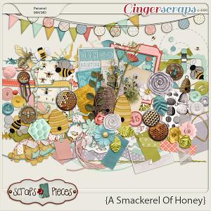 A Smackerel of Honey Embellishments - Scraps N Pieces