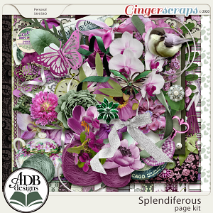 Splendiferous Page Kit by ADB Designs