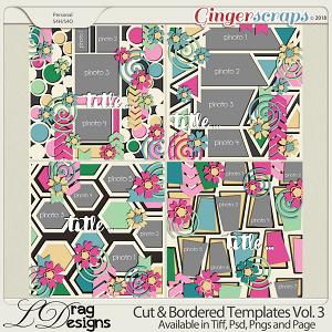 Cut & Bordered Vol.3 by LDrag Designs