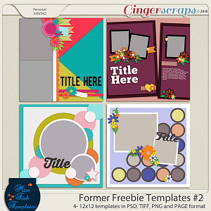 Former Freebies Templates #2 by Miss Fish Templates