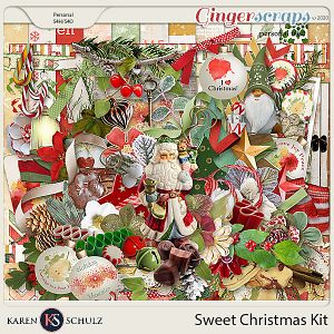 Sweet Christmas Kit by Karen Schulz and Linda Cumberland Designs