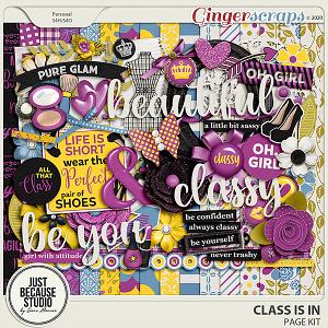 Class Is In Page Kit by JB Studio