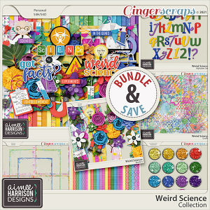 Weird Science Collection by Aimee Harrison