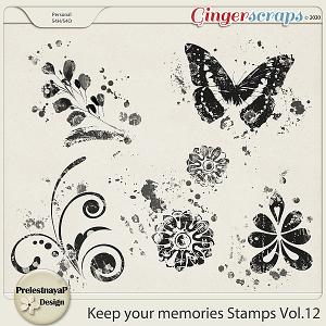 Keep your memories Stamps Vol.12