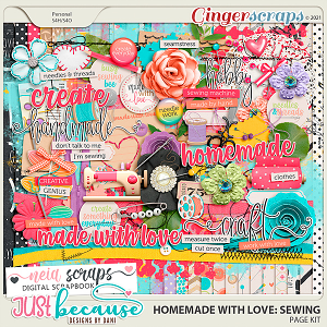 Homemade With Love: Sewing by JB Studio and Neia Scraps