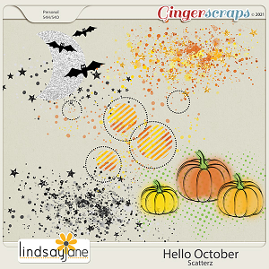 Hello October Scatterz by Lindsay Jane