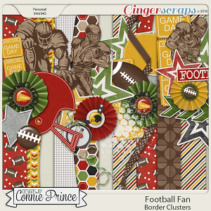 Football Fan - Border Clusters