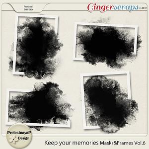 Keep your memories Masks&Frames Vol.6