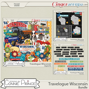 Travelogue Wisconsin - Bundle Pack by Connie Prince