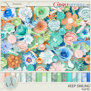 Keep Smiling Full Kit by Ilonka's Designs