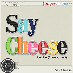 Say Cheese Alphabets