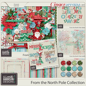 From the North Pole Collection by Aimee Harrison