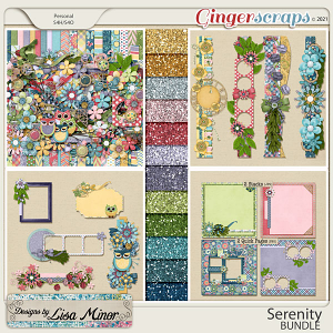 Serenity BUNDLE from Designs by Lisa Minor