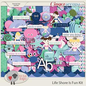 Life Is Shore Fun Kit by Luv Ewe Designs