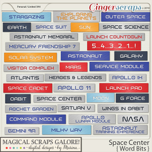 Space Center (word bits)