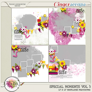 Special Moments- VOL.05 - Templates - by Neia Scraps