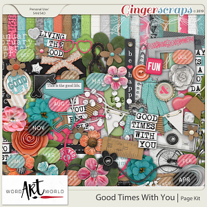 Good Times With You Page Kit