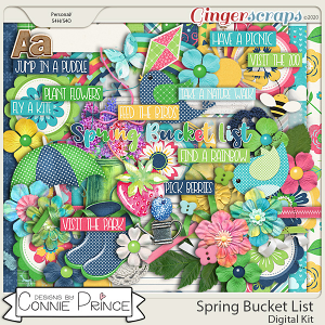 Spring Bucket List - Kit by Connie Prince