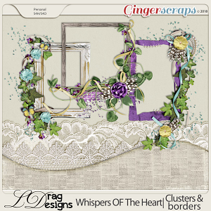 Whispers Of The Heart: Clusters & Borders by LDragDesigns