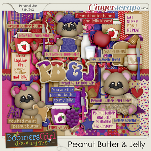 Peanut Butter & Jelly by BoomersGirl Designs