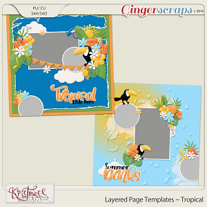 Layered Page Templates ~ Tropical