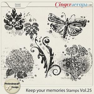 Keep your memories Stamps Vol.25