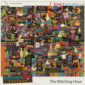 The Witching Hour by BoomersGirl Designs