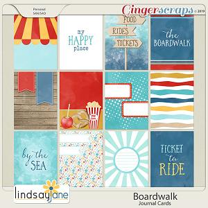 Boardwalk Journal Cards by Lindsay Jane