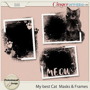 My best Cat Masks & Frames